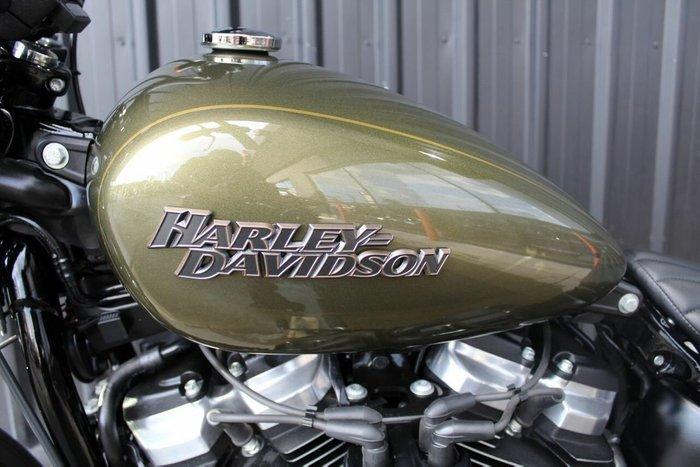 2018 Harley-davidson FXBB STREET BOB (107) Olive Gold