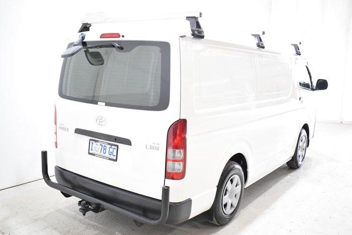 2008 Toyota Hiace KDH201R MY08 White