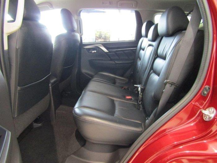 2016 Mitsubishi Pajero Sport GLS QE MY16 4X4 Dual Range Red