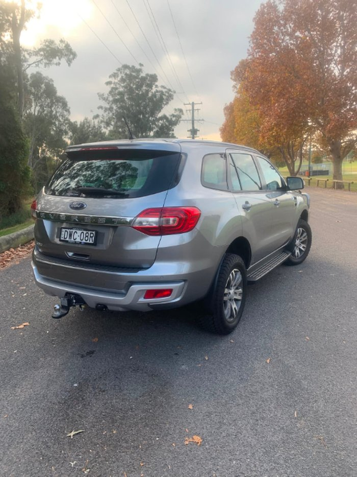 2018 Ford Everest Trend UA MY18 4X4 Dual Range Silver