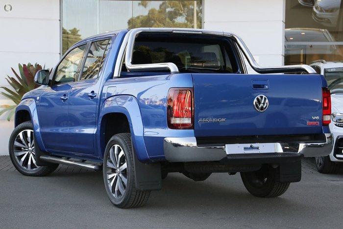2019 Volkswagen Amarok TDI580 Ultimate 2H MY19 4X4 Constant Blue