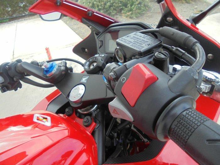 2016 Honda CBR500R Red