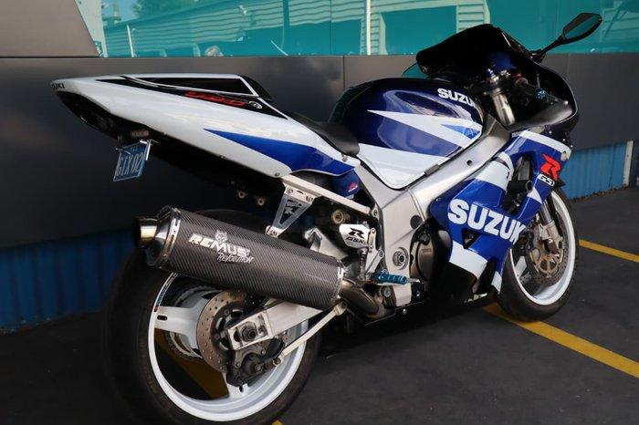 2003 SUZUKI GSX-R750 null null Blue