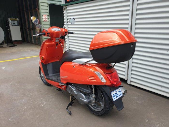 2018 KYMCO LIKE 200I null null Orange