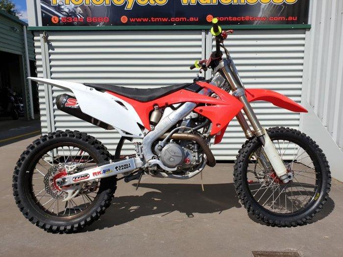 2009 HONDA CRF450R null null Red