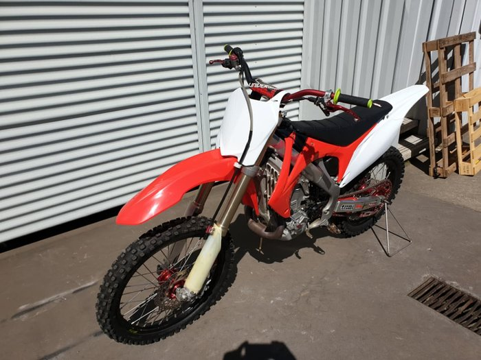 2009 HONDA CRF450R null null Red