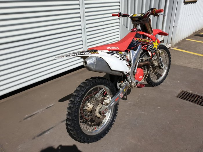 2011 HONDA CRF450R null null Red