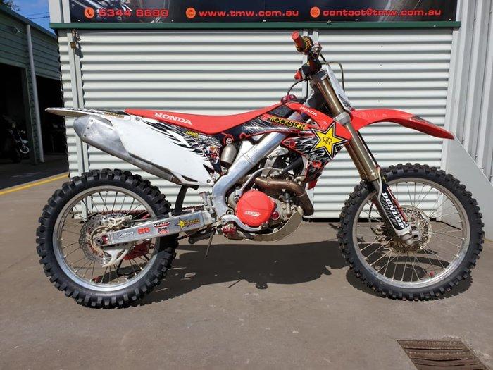 2011 HONDA CRF450R null null Red