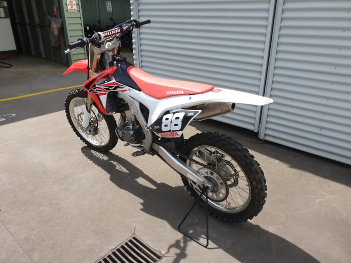 2017 HONDA CRF250R null null Red