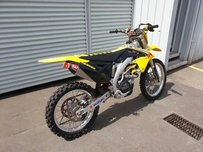 2016 SUZUKI RM-Z450 null null Yellow