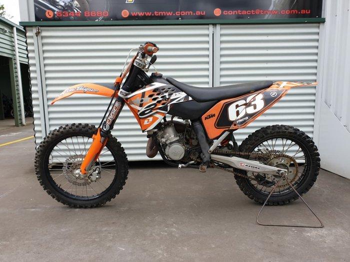 2009 KTM 125 SX null null Orange