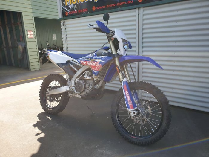2016 YAMAHA WR450F null null Blue