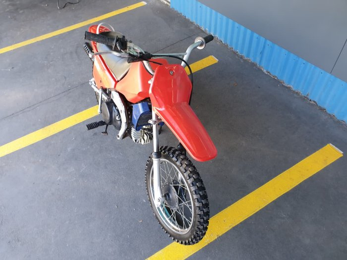 2001 YAMAHA PEEWEE 80 (PW80) null null Red