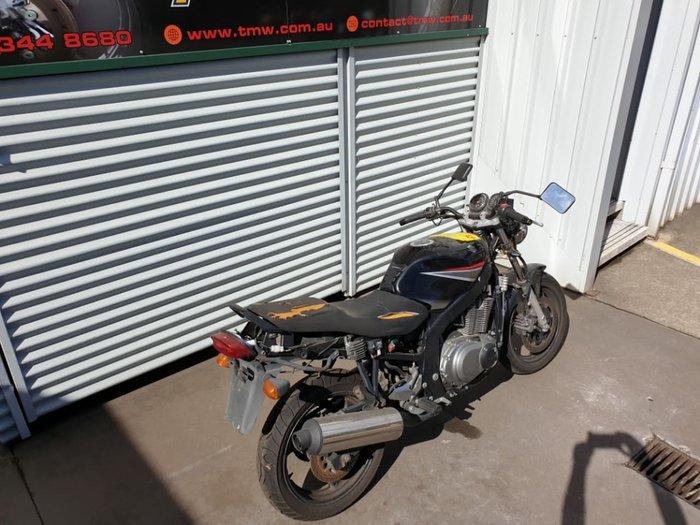 2008 SUZUKI GS500F null null Black