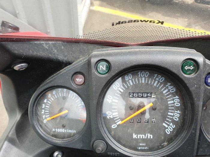2008 KAWASAKI NINJA 250R (EX250J) null null Black