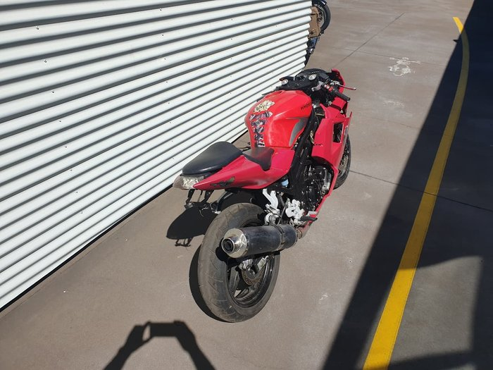 2012 HYOSUNG GT650R EFI (LAMS) null null Red