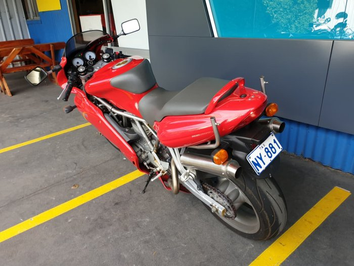 2004 DUCATI 800 SS null null Red