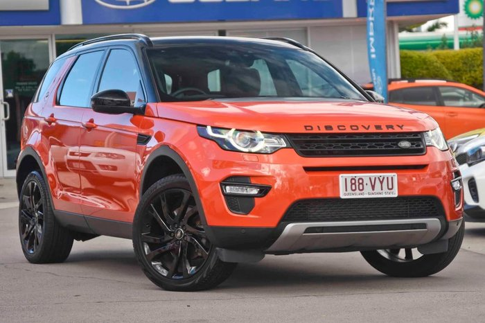 2015 Land Rover Discovery Sport SD4 HSE Luxury L550 MY15 4X4 Constant Orange
