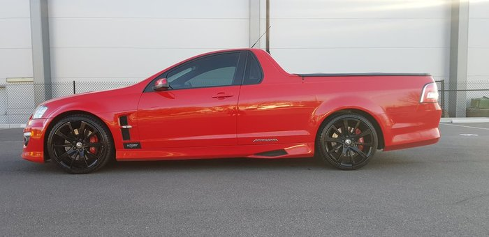 2012 Holden Special Vehicles Maloo E Series 3 MY12.5 Red