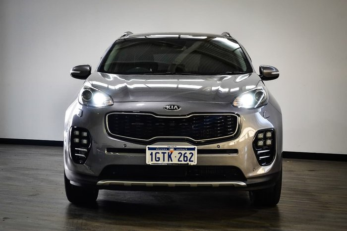 2017 Kia Sportage GT-Line QL MY17 4X4 On Demand Silver