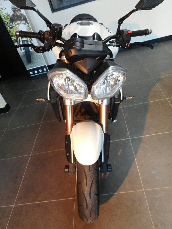 2012 Triumph SPEED TRIPLE White