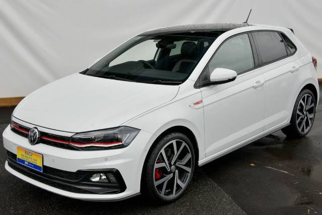 2018 Volkswagen Polo GTI AW MY19 PURE WHITE