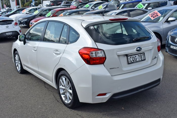 2013 Subaru Impreza 2.0i-L G4 MY13 Four Wheel Drive White