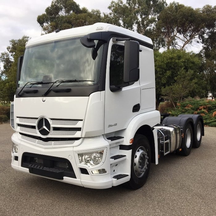 2019 MERCEDES-BENZ ACTROS 2646 PURE null null White
