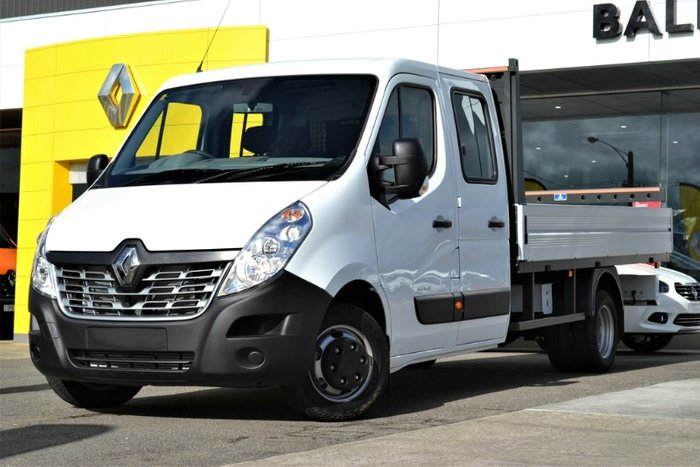 2019 Renault Master LONG WHEELBASE X62 MINERAL WHITE