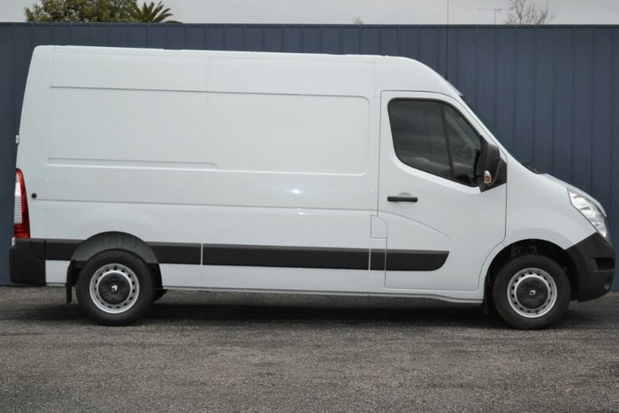 2015 RENAULT MASTER Mid Roof MWB X62 WHITE