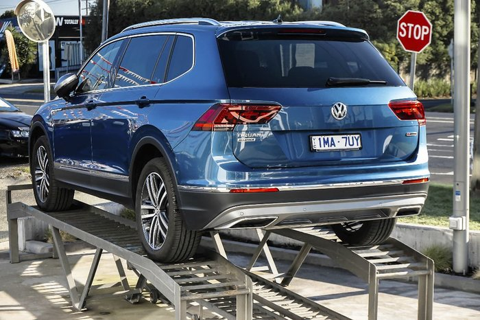2018 Volkswagen Tiguan 162TSI Highline Allspace 5N MY18 Four Wheel Drive Blue
