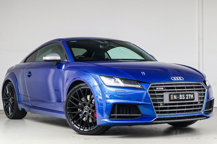 2015 Audi TT S FV MY16 Four Wheel Drive Blue