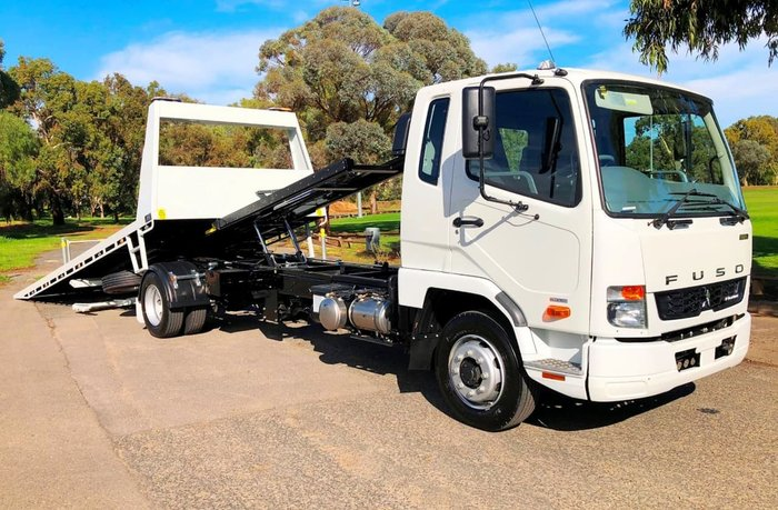 2019 FUSO FIGHTER 1124 TILT TOW UNBELIEVABLE DEALS NOW ON ACROSS RANGE null null White