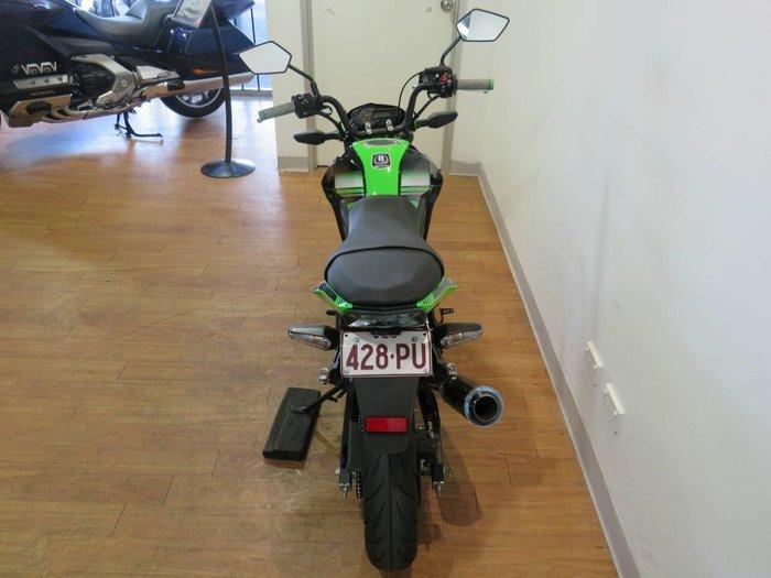 2017 Kawasaki Z125 PRO Green