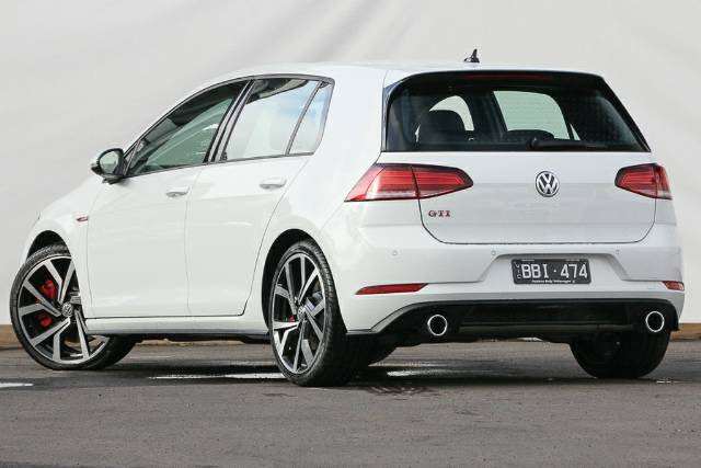 2019 Volkswagen Golf GTI 7.5 MY19.5 PURE WHITE