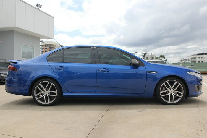 2015 Ford Falcon XR6 Turbo FG X BLUE