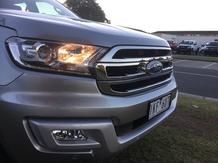 2017 Ford Everest Trend UA 4X4 Dual Range Silver