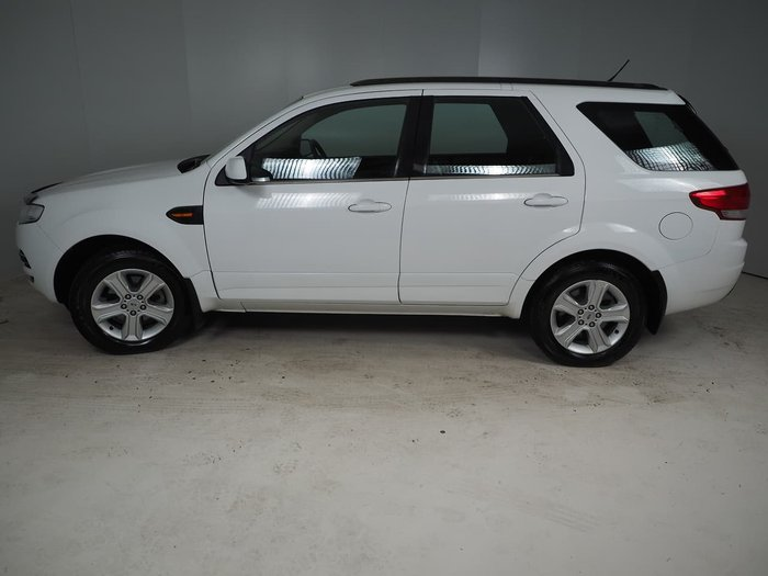 2012 Ford Territory TX SZ Four Wheel Drive White