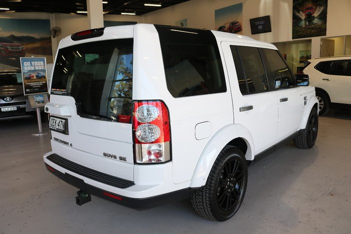 2011 Land Rover Discovery 4 SDV6 SE Series 4 MY12 4X4 Constant White