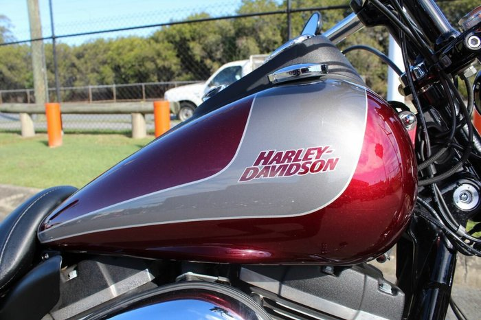 2015 Harley-davidson FXDBB STREET BOB S.E. Mysterious Red Delux