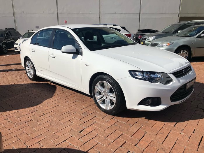 2011 Ford Falcon XR6 EcoLPi FG White