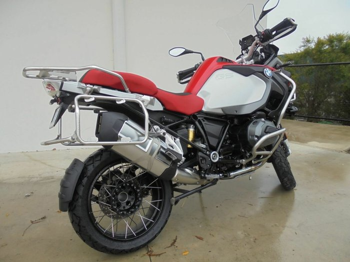 2016 Bmw R1200 GS ADVENTURE RED APPLE METALLIC