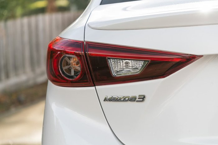 2015 Mazda 3 SP25 Astina BM Series White