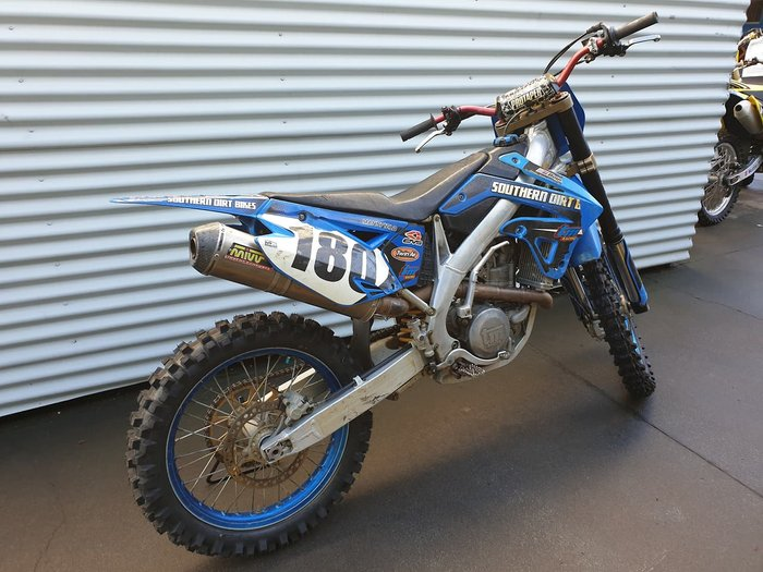 2008 TM 450 FMX null null Blue
