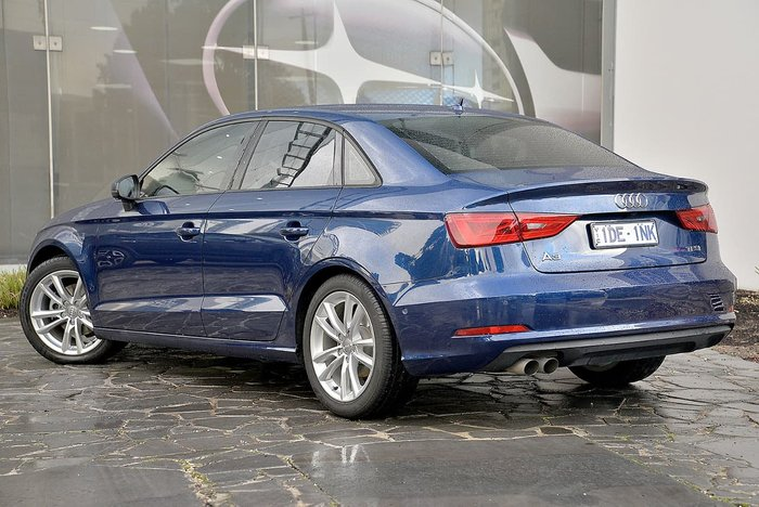 2016 Audi A3 Attraction 8V MY16 Blue