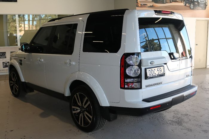 2015 Land Rover Discovery SDV6 HSE Series 4 MY15 4X4 Dual Range White