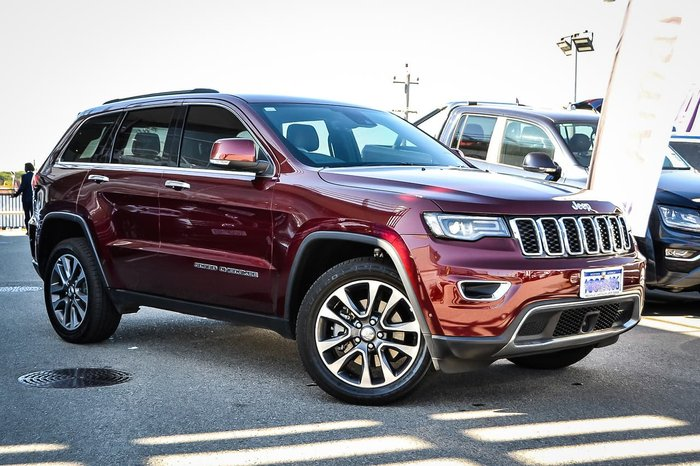 2018 Jeep Grand Cherokee Limited WK MY19 4X4 Dual Range Red
