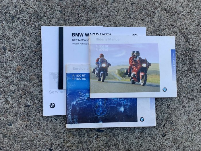 1995 BMW R1100RT (ABS) Red