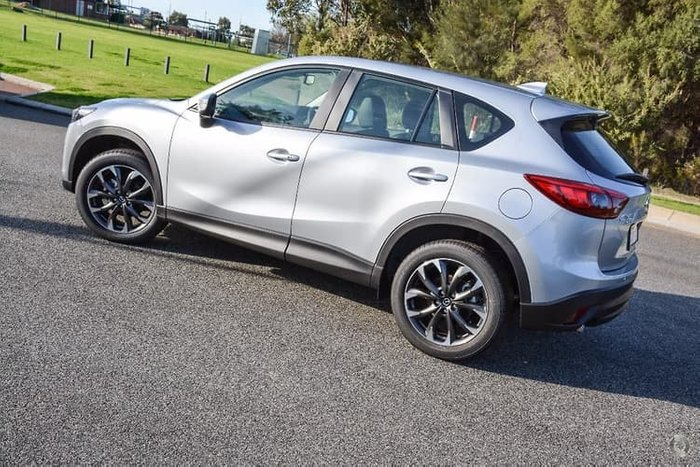 2017 Mazda CX-5 Akera KE Series 2 4X4 On Demand Silver
