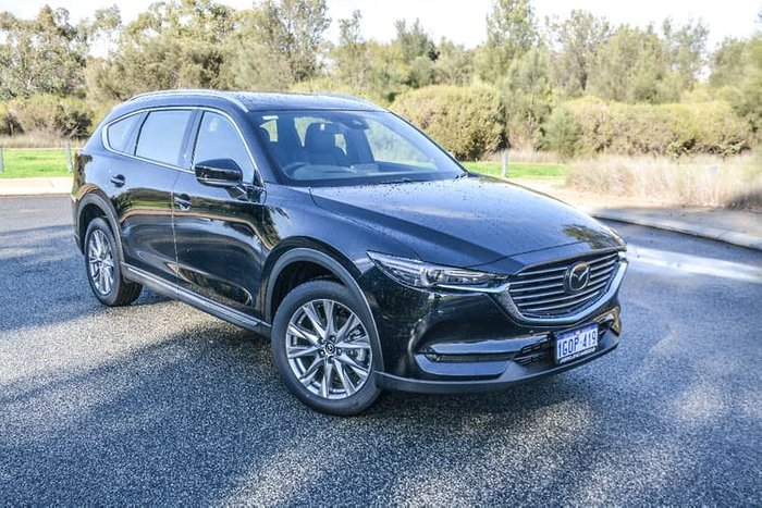 2018 Mazda CX-8 Asaki KG Series 4X4 On Demand Black